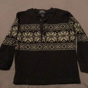 Ralph Lauren boys size 2T thermal shirt